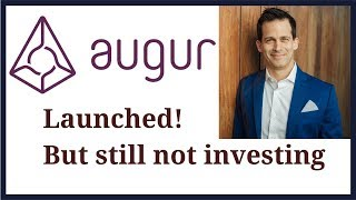 Augur prediction market launched but cryptocurrency (REP) price still is not exciting