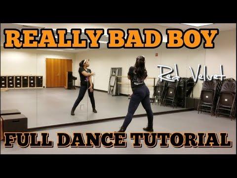 Red Velvet 레드벨벳 'RBB (Really Bad Boy)' - FULL DANCE TUTORIAL