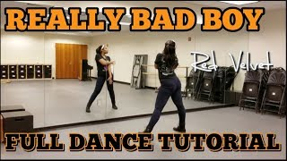 Red Velvet 레드벨벳 'RBB (Really Bad Boy)' - FULL DANCE TUTORIAL