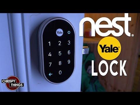 Nest Door Lock! Unboxing & Install!
