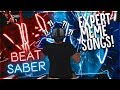 Download BEST MEME SONGS ON BEAT SABER (EXPERT CUSTOM SONGS)