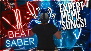 Baixar BEST MEME SONGS ON BEAT SABER (EXPERT CUSTOM SONGS)