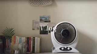 V.log | 직장인 집순이 주말에도 집에 있는 일상(…