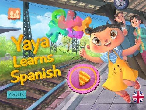 Yaya Learns Spanish App for Kids | Learn Spanish through funny games