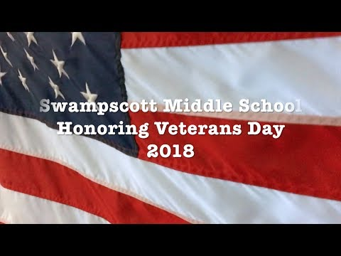Swampscott Middle School Veterans Day 2018