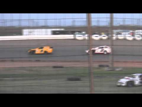 Sport Mod Make Up Main at Lubbock Speedway for 6-21-13
