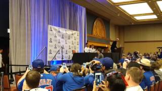 Chicago Cubs Convention 2016