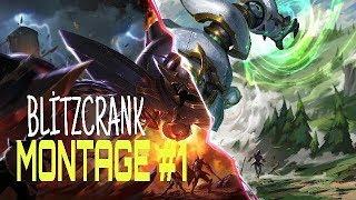 Blitzcrank Montage #21 - Best Blitzcrank Plays S8 | League Of Legends