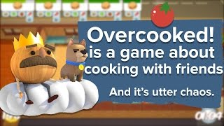 Overcooked is a game about cooking with your friends. It's utter chaos.