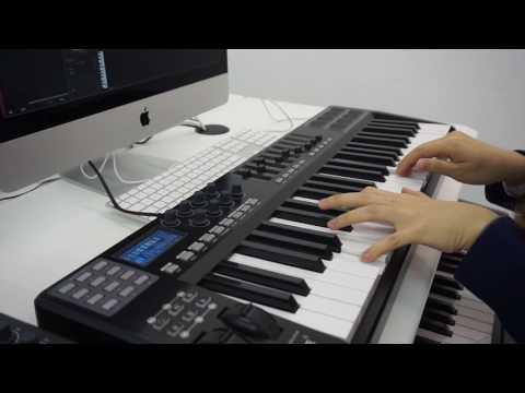 Panda MIDI 25key&49key&61key keyboard controllers&drum pads