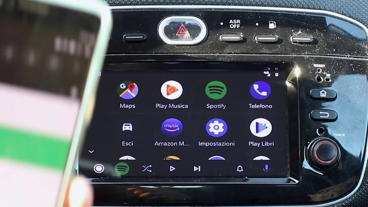 installare android auto su un autoradio android youtube. Black Bedroom Furniture Sets. Home Design Ideas