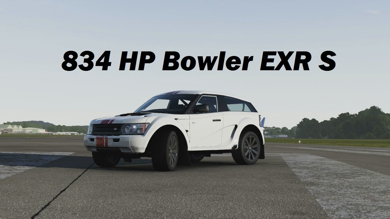 Extreme Power, No Handling - 2012 Bowler EXR S (Forza 6) - YouTube
