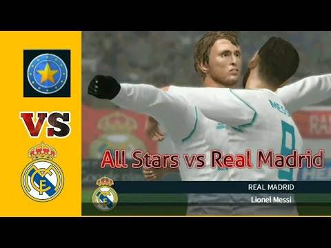 Division All Stars Vs Real Madrid | Dream League Soccer | Game Play | Highlights