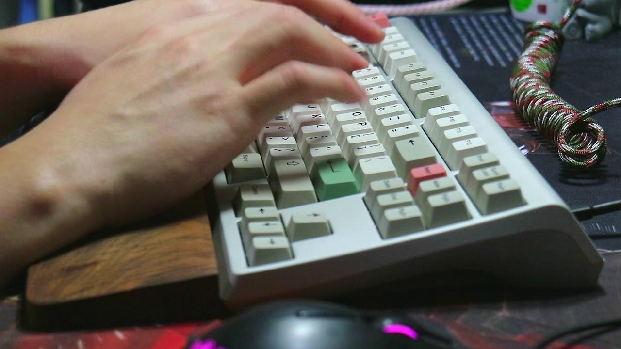 [Play Keyboard玩鍵盤] Moon TKL Keyboard Typing Sounds