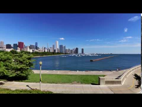 Chicago Museum Campus View Lake Michigan