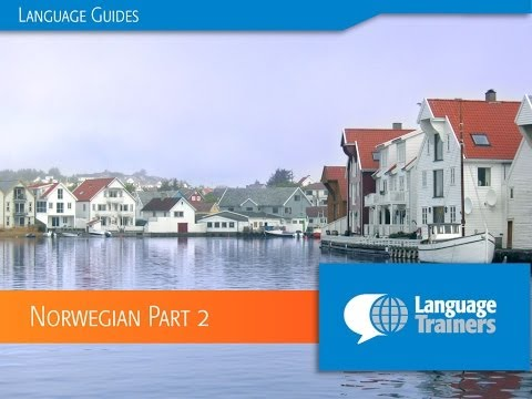 Introduction to Norwegian Part 2 (Norway's Famous People & Companies)