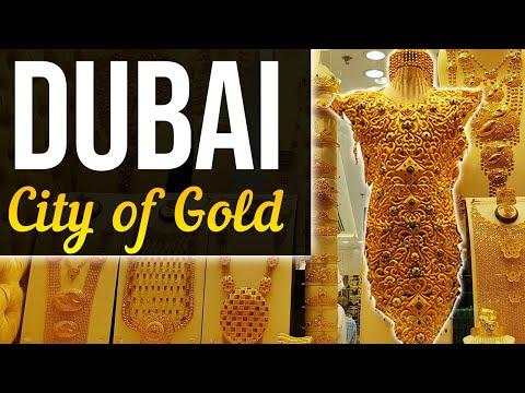 Visiting & Buying Gold at the Deira Gold Souk Dubai
