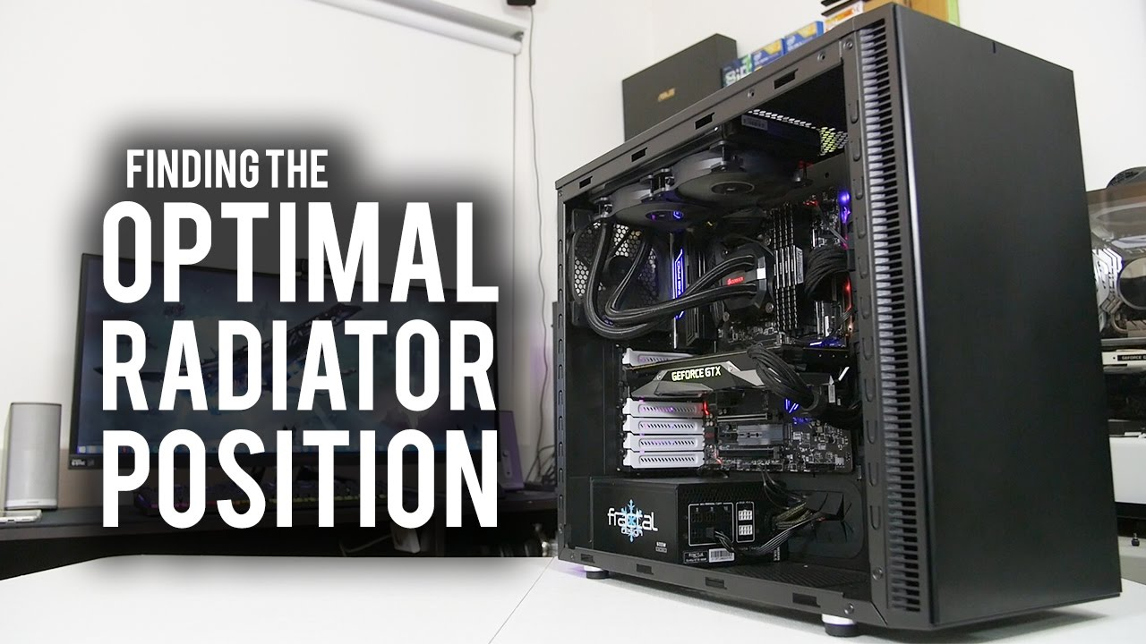 Does Radiator Placement Matter Hint Yes Youtube