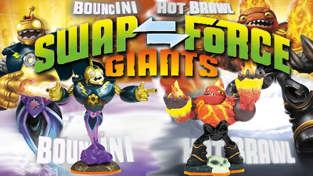 Uncategorized Skylanders Swap Force.com skylanders swap force w giants bouncini vs hot brawl youtube