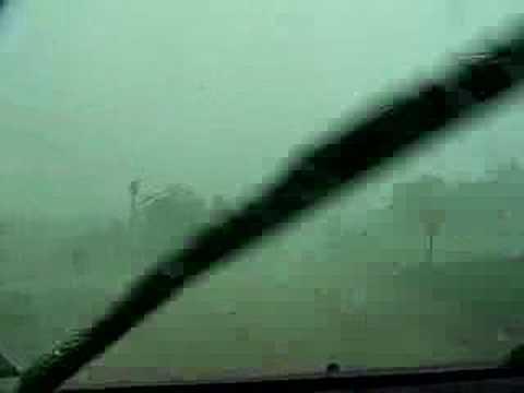 Hailstorm in Damar Kansas