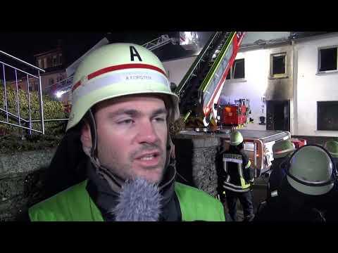 Gebäudebrand Lorscheid -