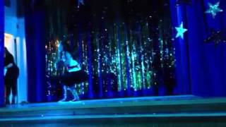 Jasmine Alveran Performing Run Dat Back by Jadagrace Talent Show