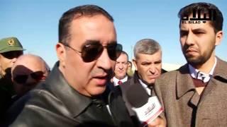 شاهد صرامة واحترام المواطنين لهذا المسؤول الجزائري