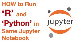 How to Run  R and Python Code in Single Jupyter  Notebook