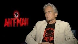 Michael Douglas on Marvel's 'Ant-Man'