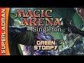 Mono Green Stompy | Singleton [ Magic Arena ]