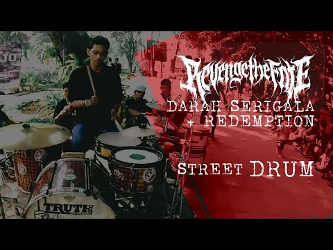 [STREET DRUM] Revenge The Fate - Darah Serigala (Drum Cover by R Wiryawan)