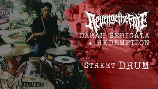 [STREET DRUM] Revenge The Fate - Darah Serigala (Drum Cover by R Wiryawan)
