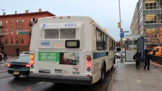 MaBSTOA Bus: East Harlem Bound Orion 5 M100 at W. 125th St & Morningside Ave
