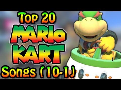 Top 20 Mario Kart Songs (10-1)