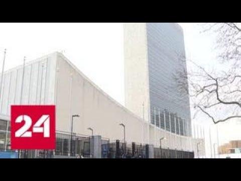 В ООН приняли российскую резолюцию по борьбе с нацизмом - Россия 24