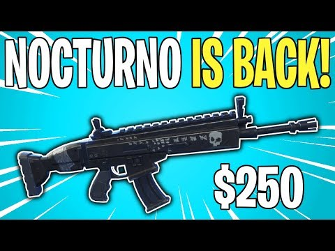 NOCTURNO IS FINALLY BACK! Ultimate Edition Has RETURNED | Fortnite Save The World News