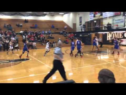 Cornerstone Christian Girls Basketball Versus Lake Ridge Academy