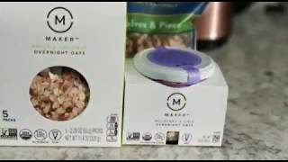 Makers Overnight Oats :) /Healthy meal