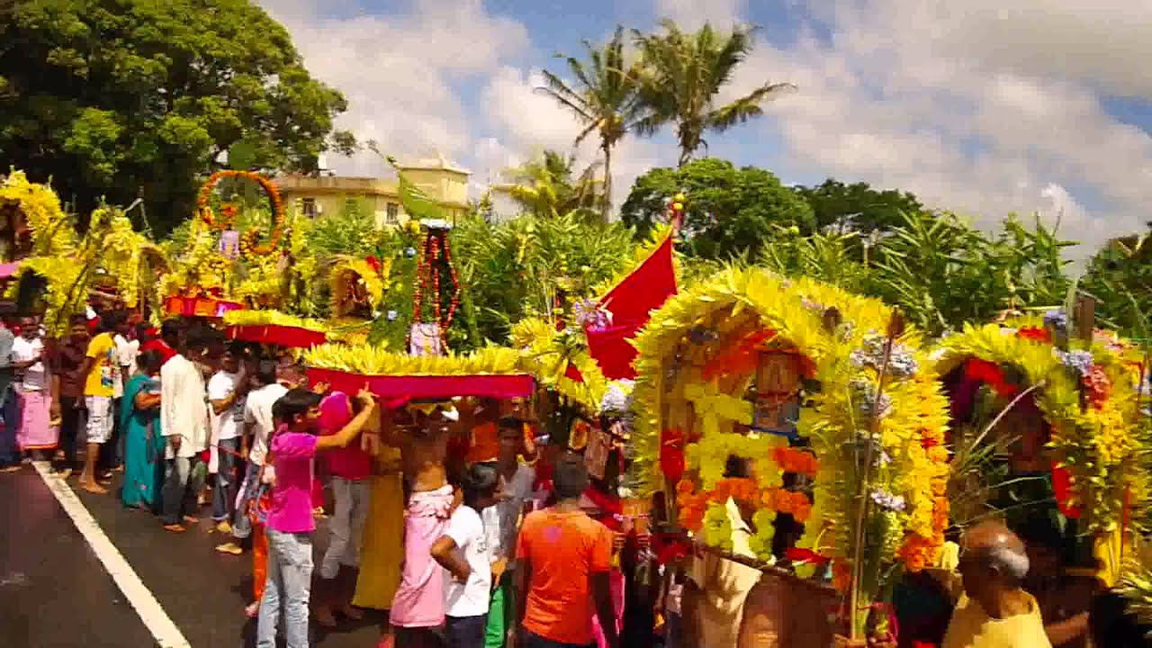 Girls Working Out Wallpaper Cavadee Procession At Bramsthan Flacq Mauritius Youtube