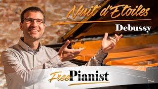 Nuit d'étoiles - Low voices - KARAOKE / PIANO ACCOMPANIMENT - Debussy