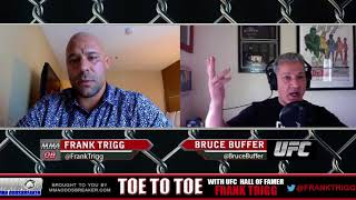 Bruce Buffer talks Mayweather vs. McGregor, GSP vs. Bisping with Frank Trigg
