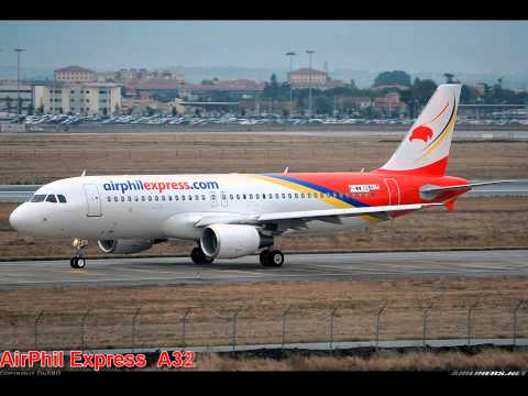 Airlines in the Philippines and fleets