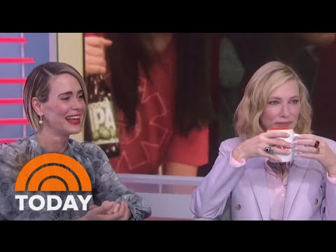 Sarah Paulson And Cate Blanchett Talk About 'Ocean's 8' And Make Hoda Lose It  TODAY