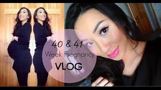 40 & 41 Week Pregnancy Update | OVERDUE! INDUCTION? STILL PREGNANT?