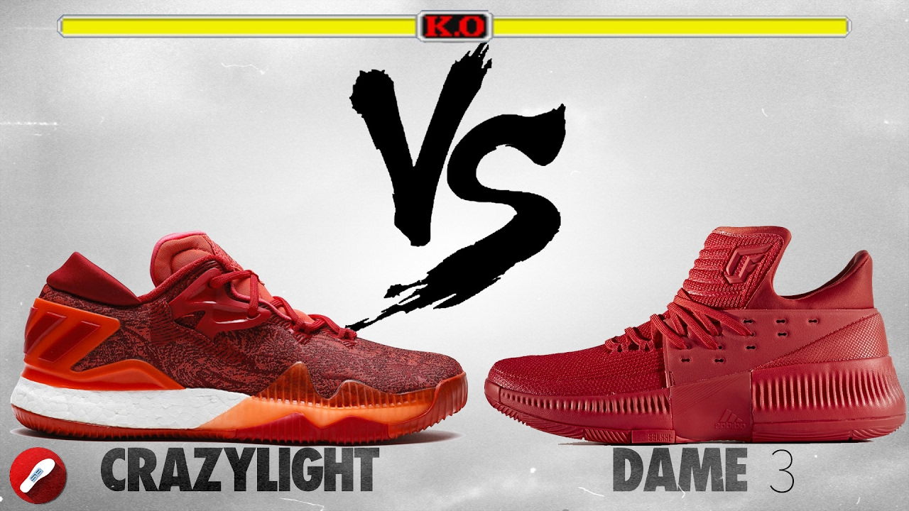 e533032d6a99 ... usa adidas crazylight boost 2016 vs dame 3 youtube b0bfe 59cee