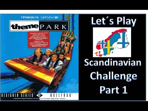 Let´s Play - Theme Park - Sega - Scandinavia Challenge Part 1
