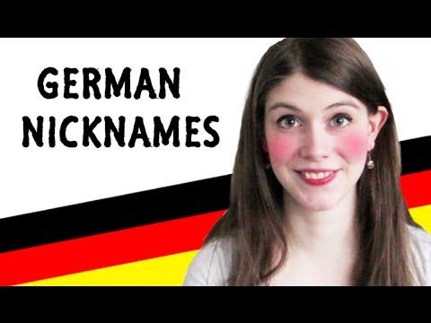 Funny German NICKNAMES