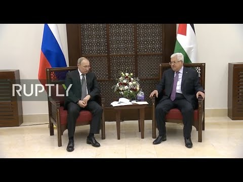 REFEED: Putin to meet Abbas in Bethlehem (ENG)