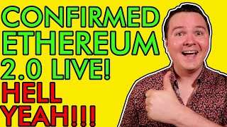 Ethereum Ready to EXPLODE! ETH 2.0 Confirmed! Holders Must Watch This Before December 1st! [wow]