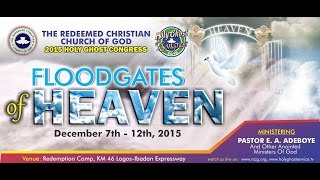 Holy Ghost Congress 2015_The FloodGates of Heaven Day 5 (Evening Session)